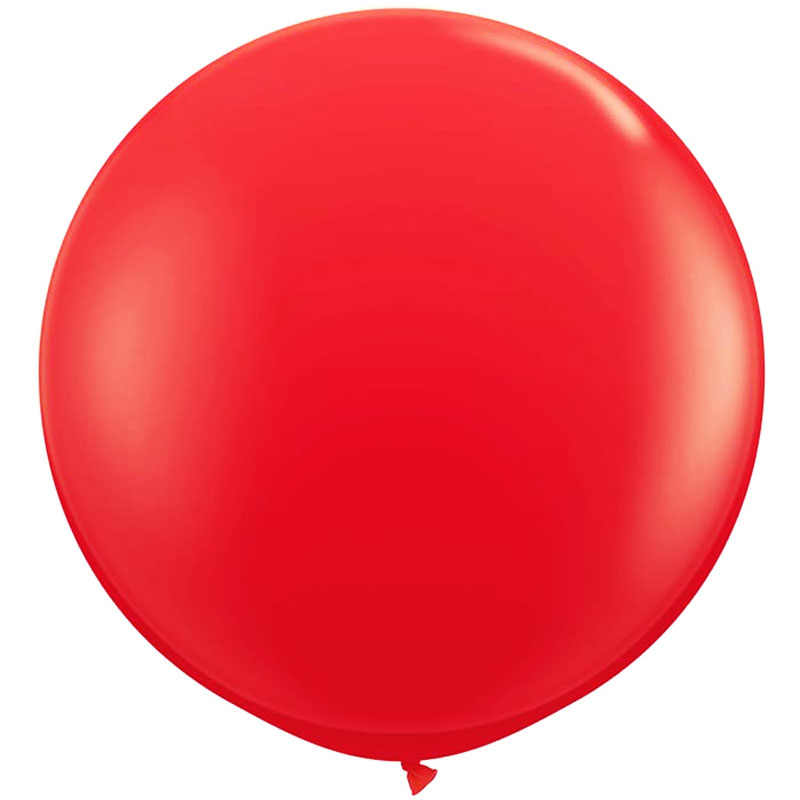 Ballon géant en latex rouge
