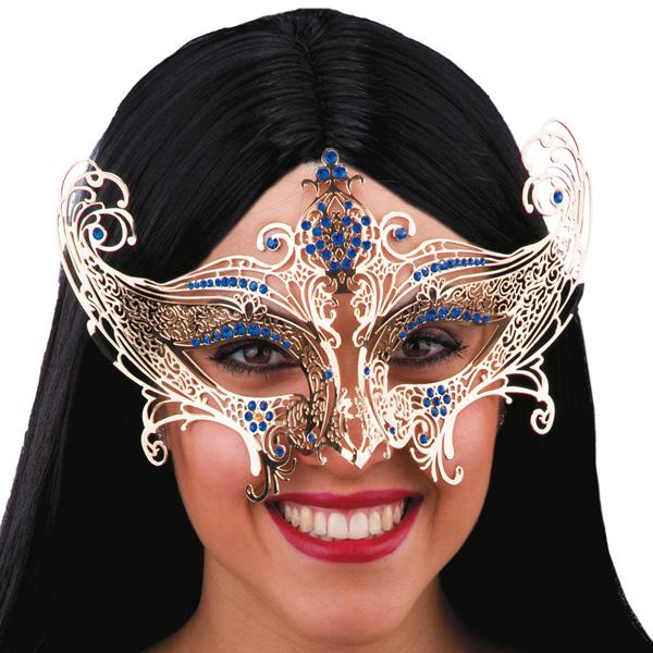 Masque dentelle en métal