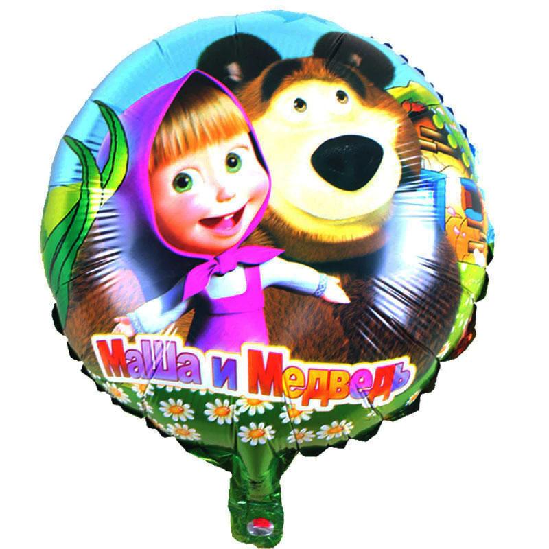 Ballon Masha et Michka  russe
