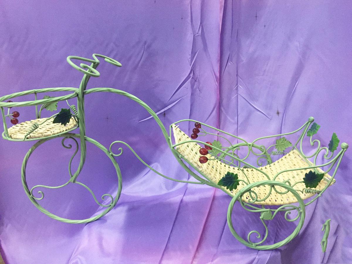Présentoir à dragées forme vélo