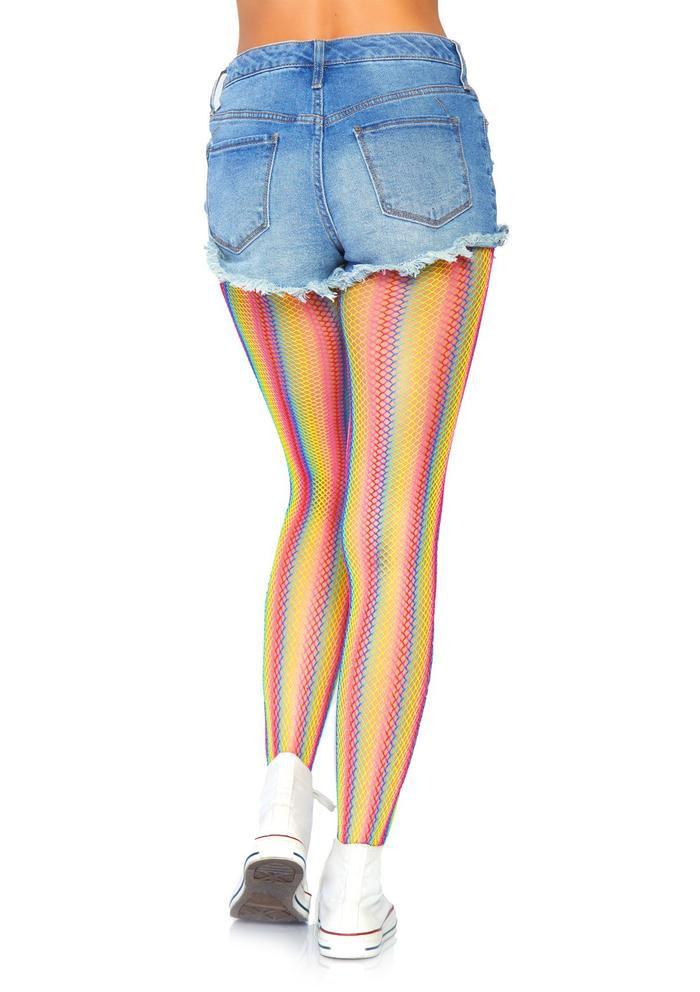Collants résille Rainbow