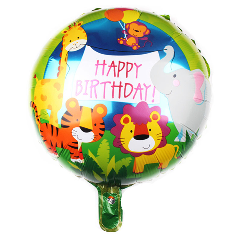 Ballon mylar happy birthday