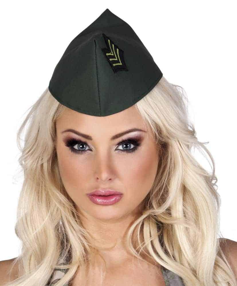 Calot militaire pour femme