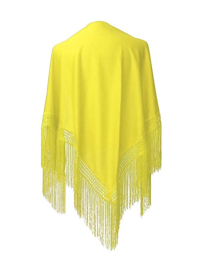Châle espagnol jaune