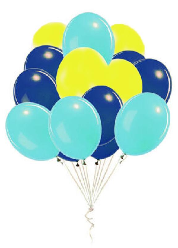 Bouquet de 12 ballons latex Dory
