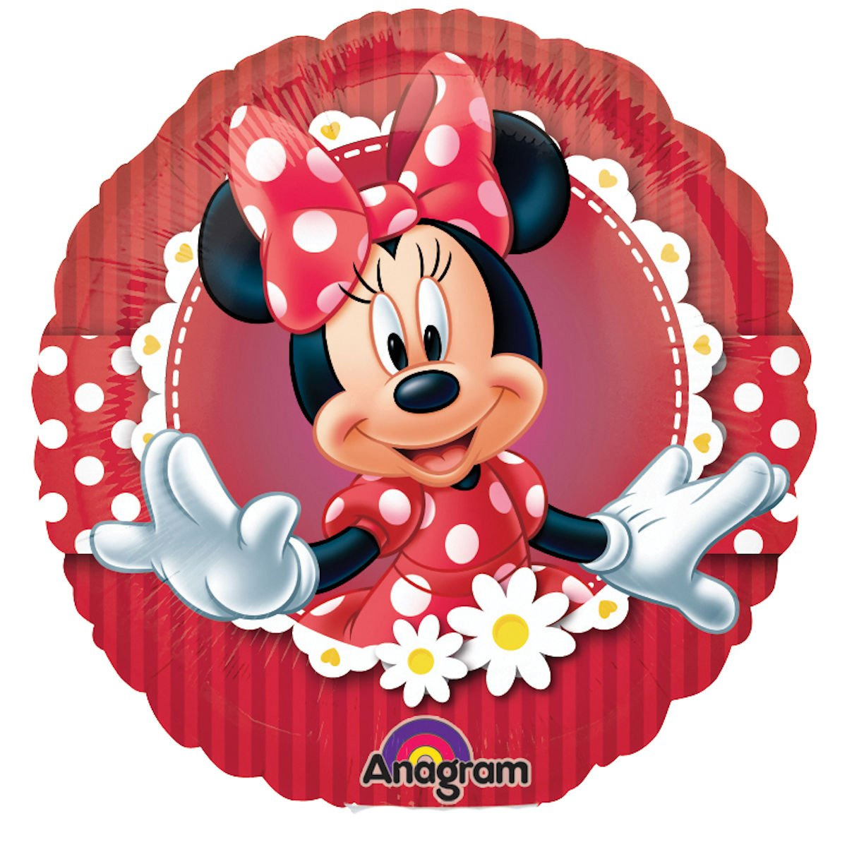 Ballon mylar Minnie rouge