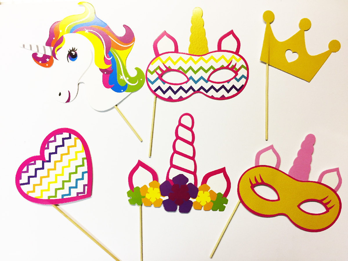 Pack photobooth licorne