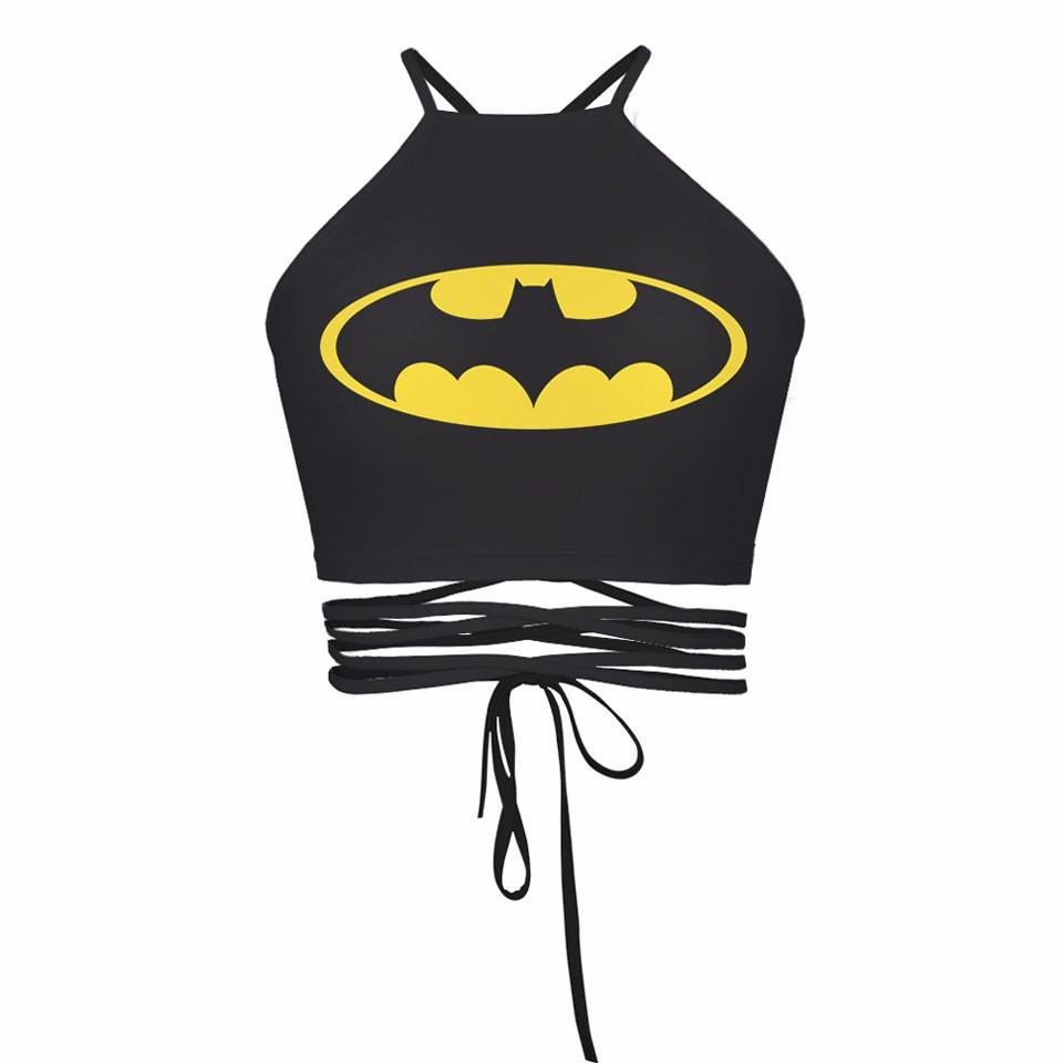 Crop Top débardeur Batgirl