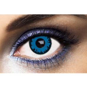 Lentilles de contact bleues Wolf