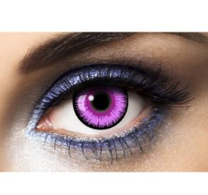 Lentilles de contact Lunatic Purple
