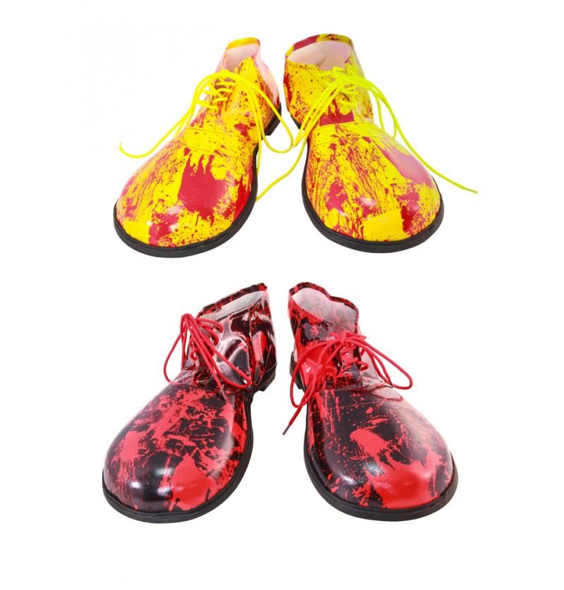 Chaussures de clown sanglantes