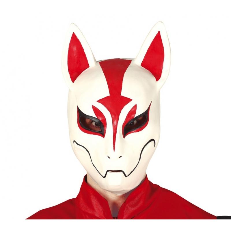 Masque en latex de renard Drift Nomade