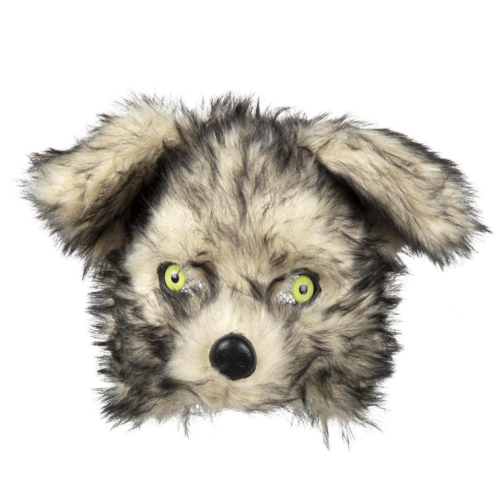 Demi masque de loup