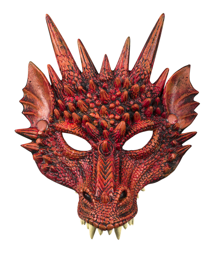 Demi masque de dragon