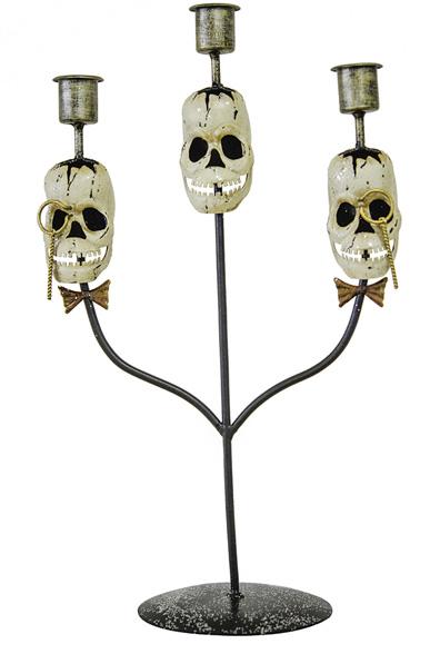 Chandelier trois branches Halloween