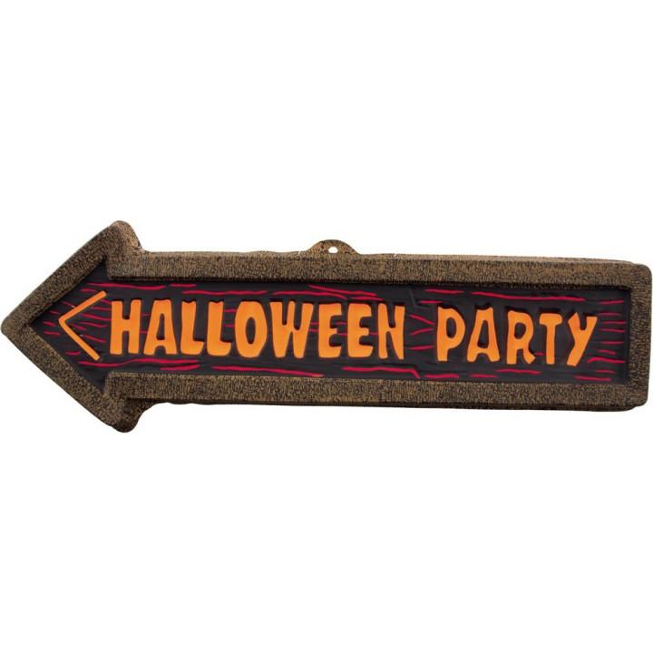 PANCARTE HALLOWEEN PARTY