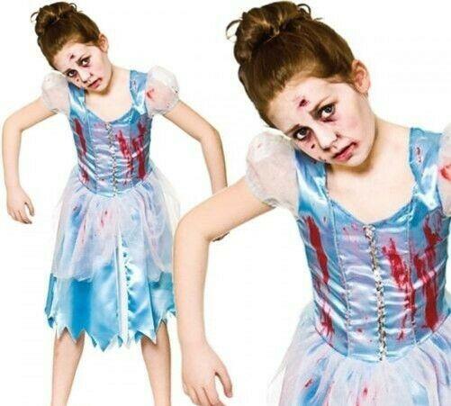 Déguisement Cendrillon Zombie enfant