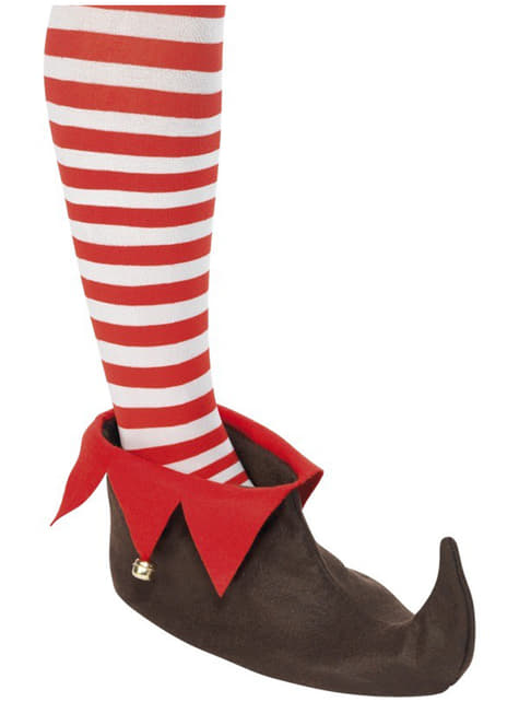Sur chaussure de lutins ou d\'elf marron