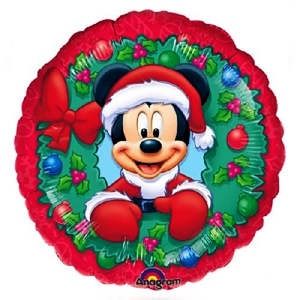 Ballon mylar Mickey Noel