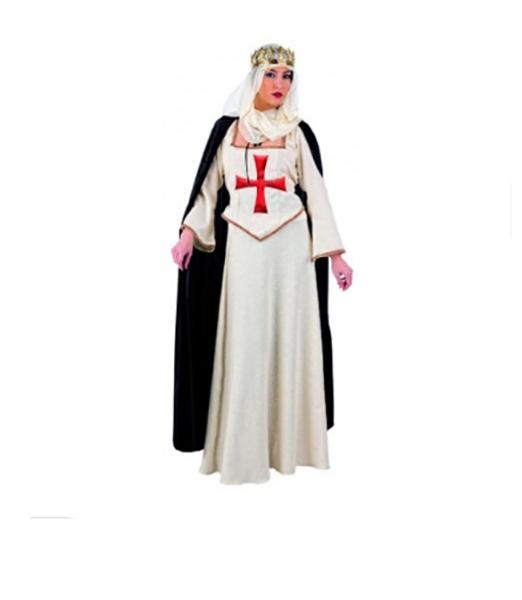 Costume de reine Médiévale