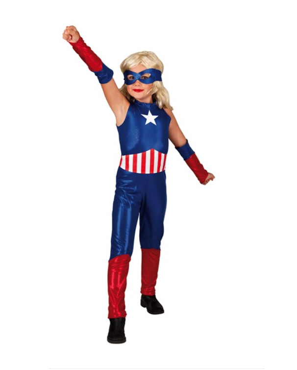 deguisement heroine enfant america