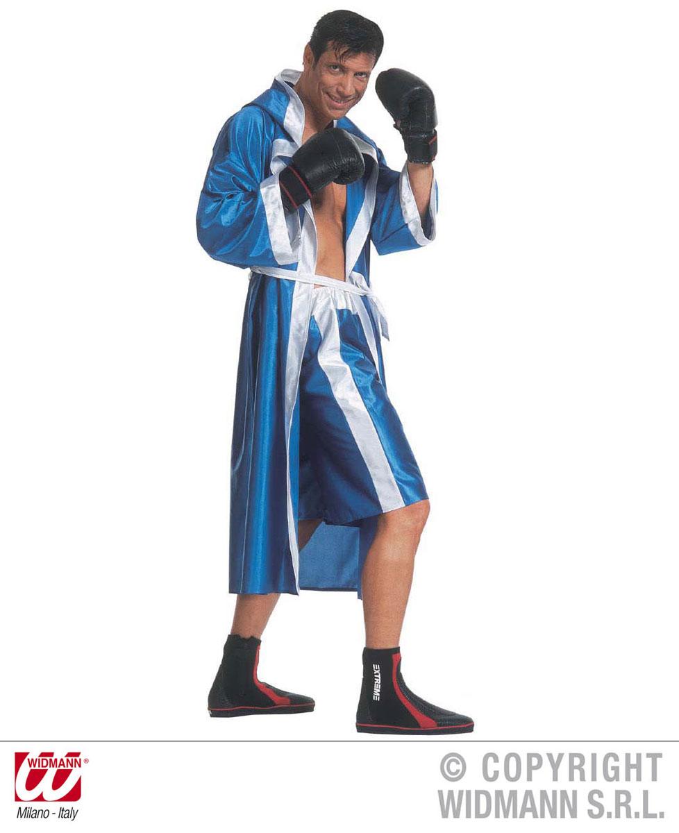Déguisement boxeur bleu