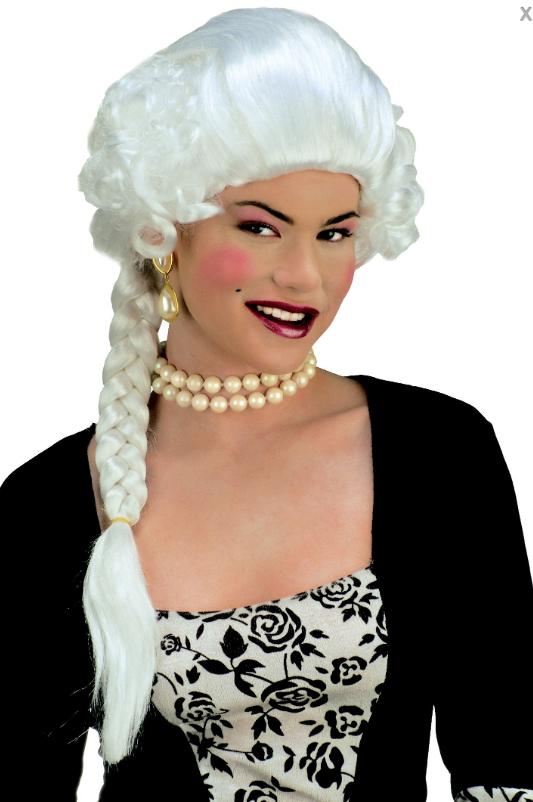 Perruque Duchesse Blanche
