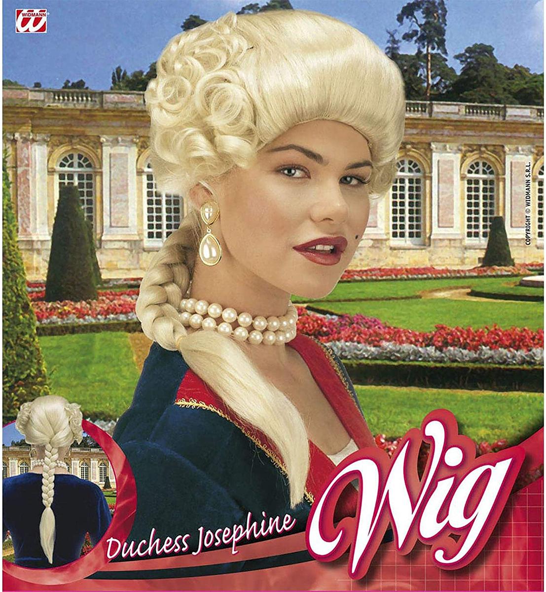 Perruque duchesse Joséphine blonde
