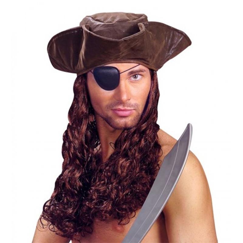 Perruque de Pirate Avec Chapeau