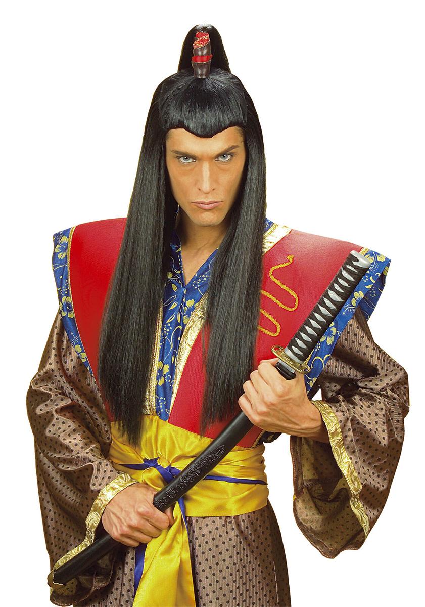 Perruque de guerrier Samourai