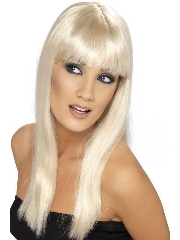 Perruque fashion blonde glamourama