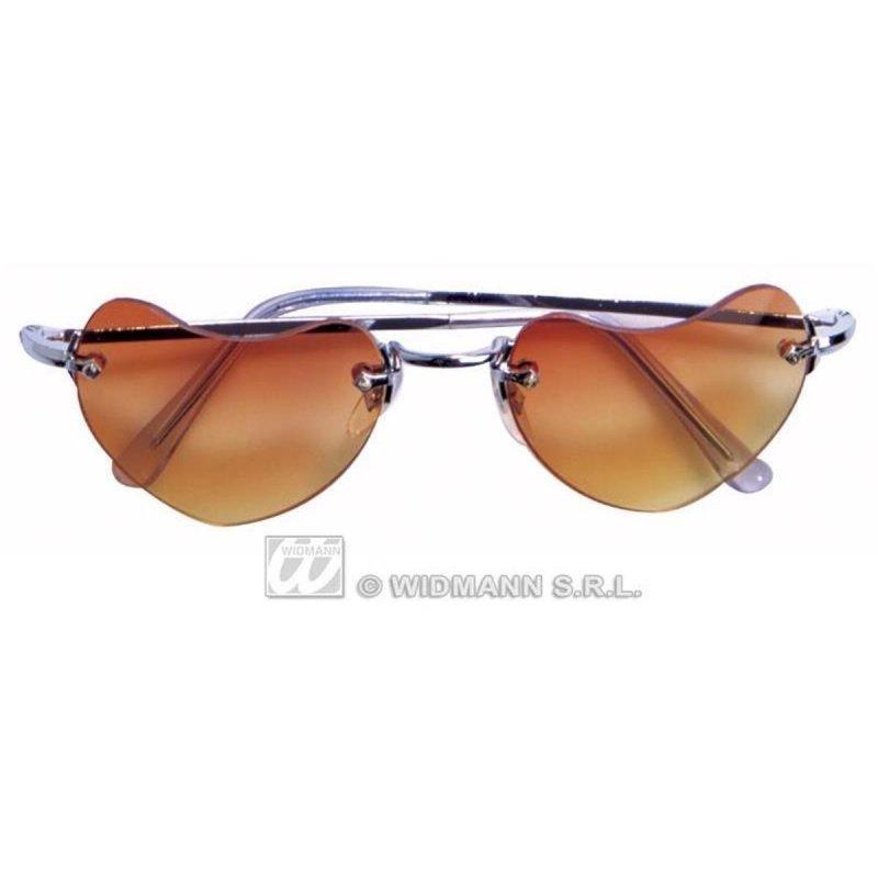 lunettes coeur abricot