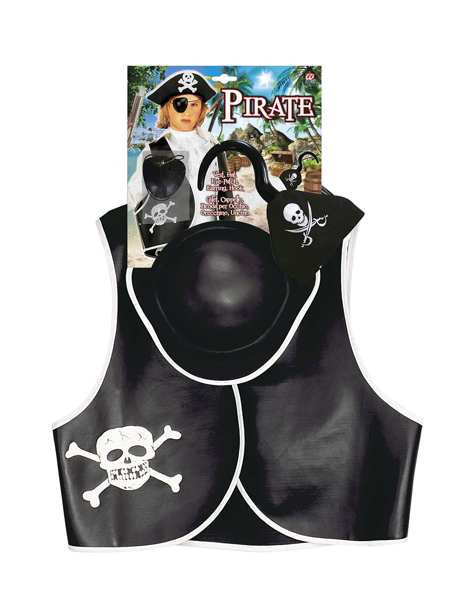 Set accessoires de pirate enfant