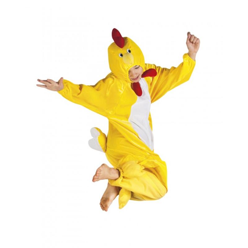 Déguisement de coq jaune