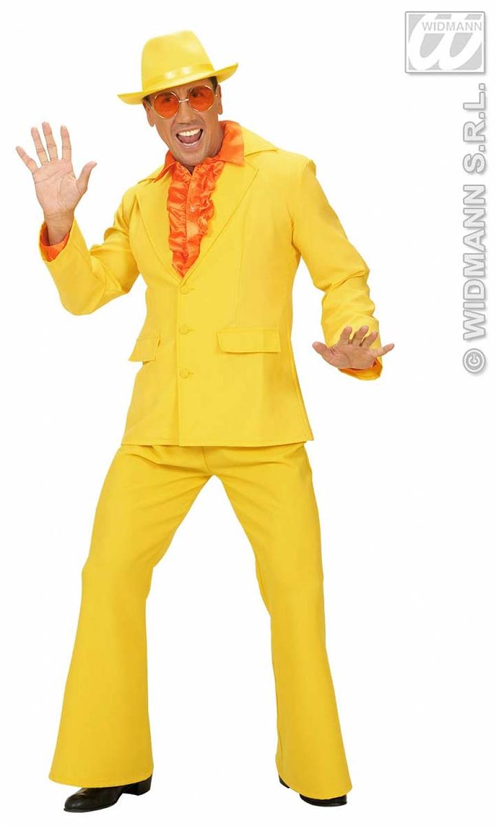 Costume de fête homme jaune