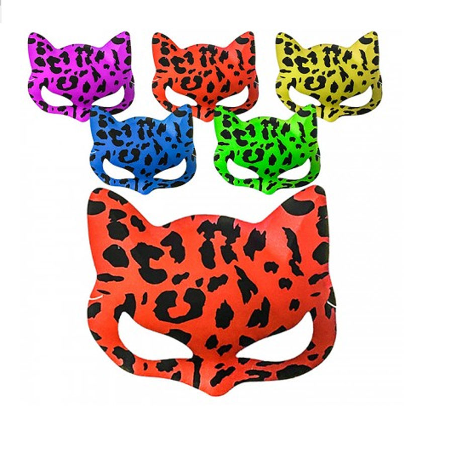 Masque de chat fluo