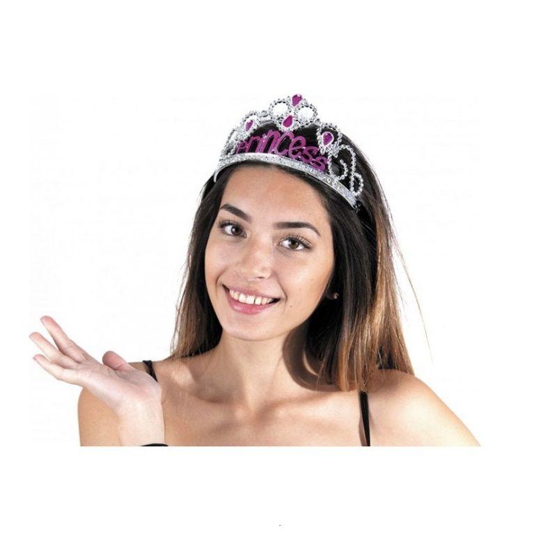 Diadème en plastique Princesse