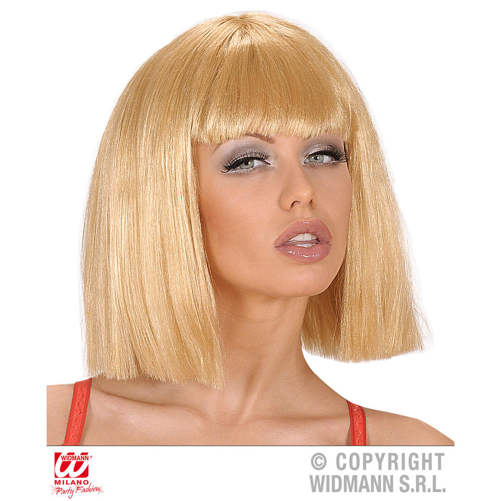 Perruque show girl blonde