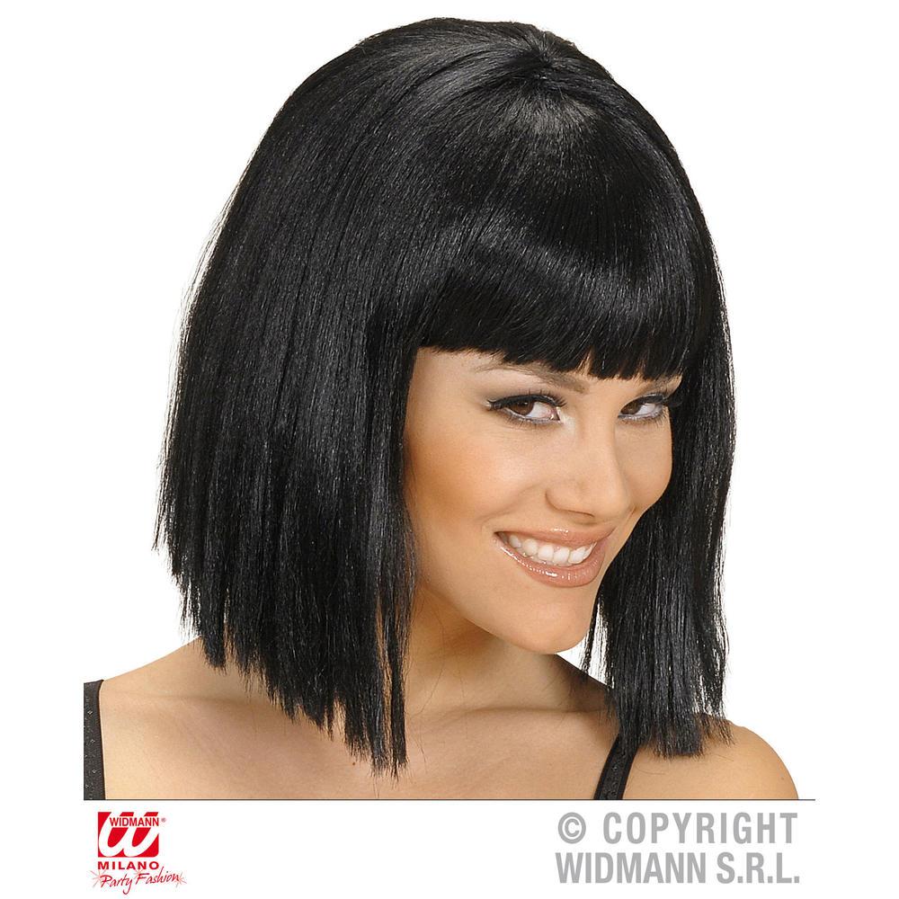 perruque show girl noire