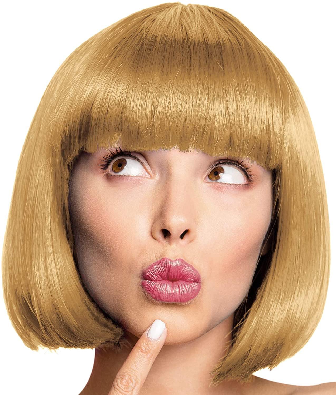 perruque charleston blond foncé