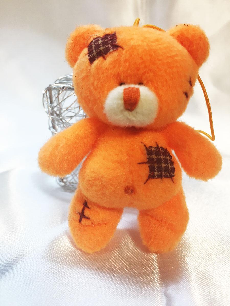 3 mini oursons orange