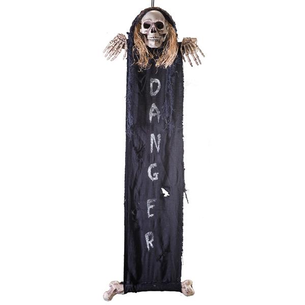 Décor ou bannière squelette
