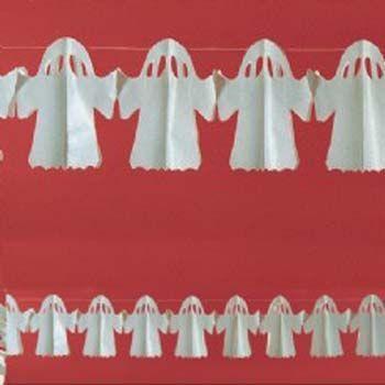 Guirlande Fantômes 3 M 70 X 15 Cm