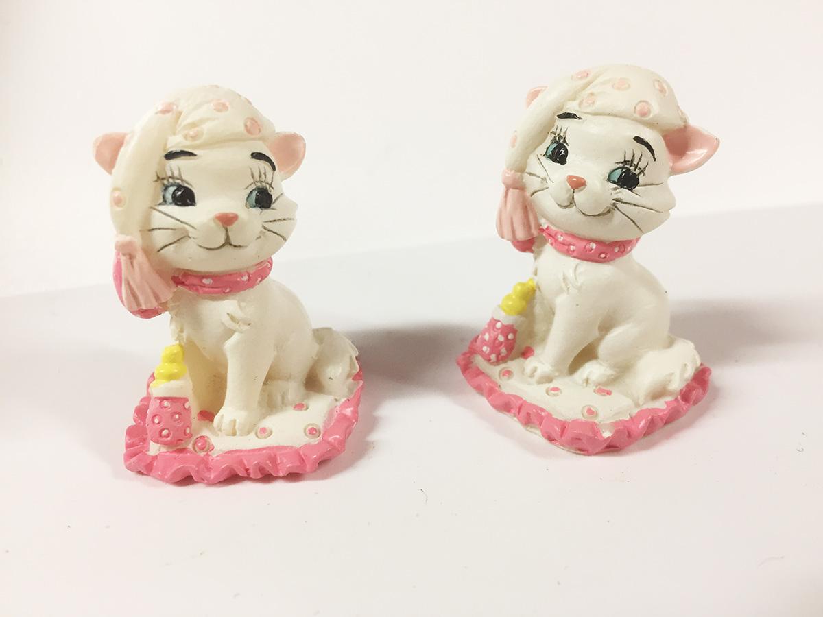3 mini figurines disney Aristochat marie baby