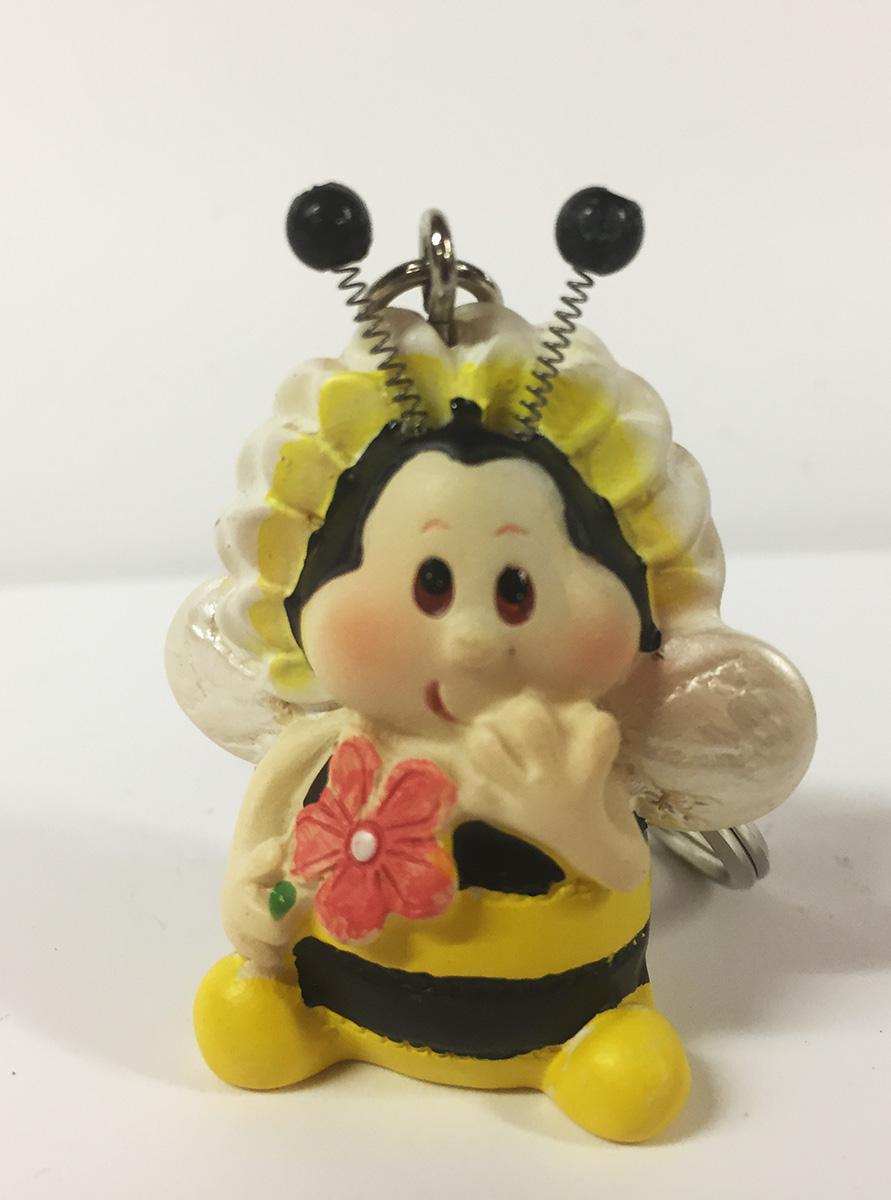2 porte-clefs abeille