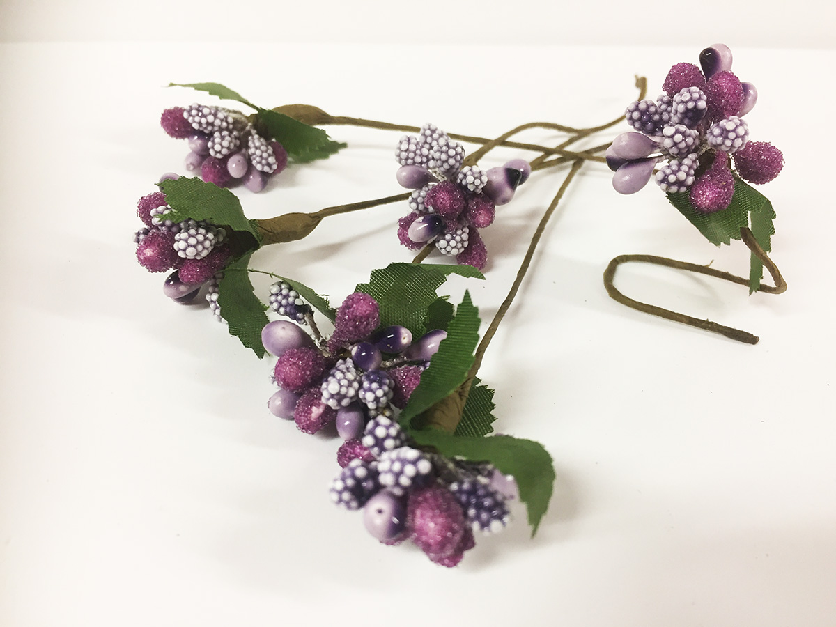 24 Mini bouquets fruits des bois