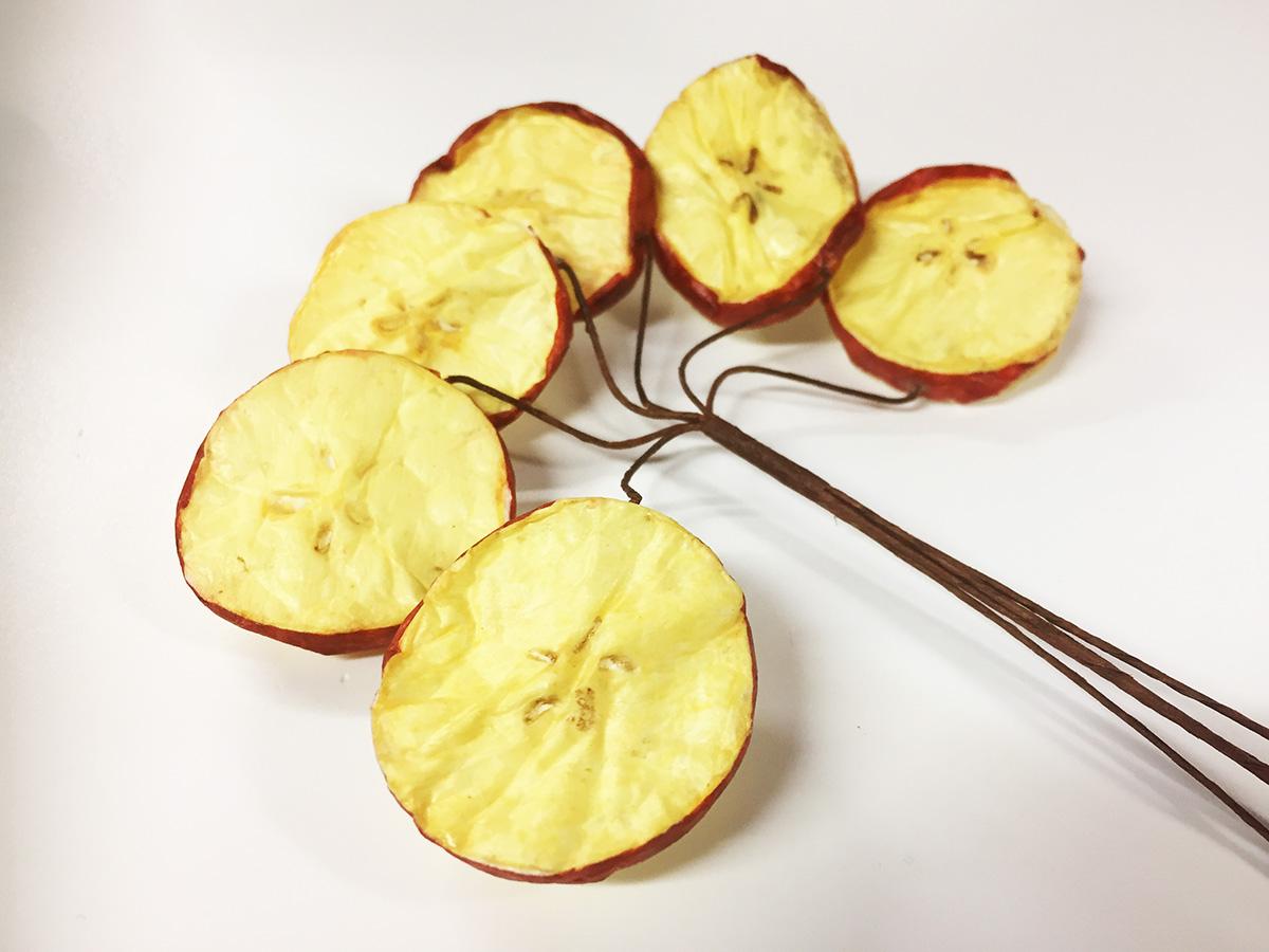 18 tiges pomme tranchée