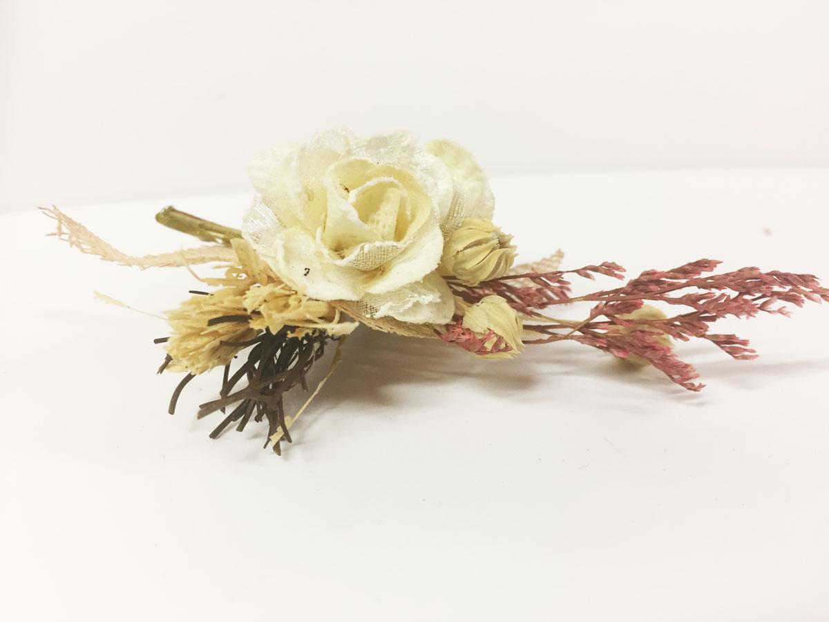 3 Mini bouquets fleurs champêtres