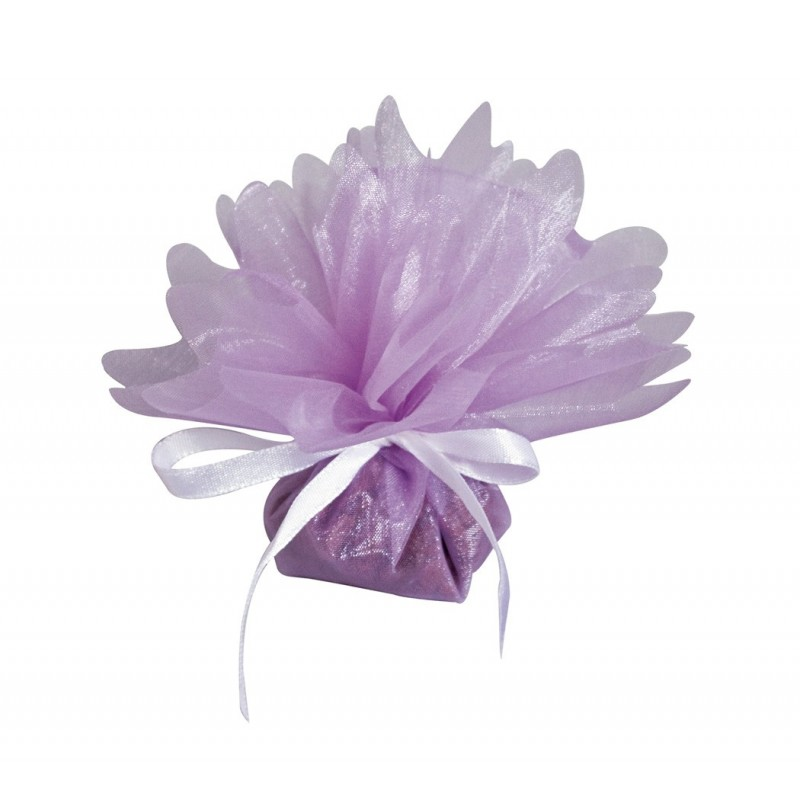 25 tulles cristal lilas