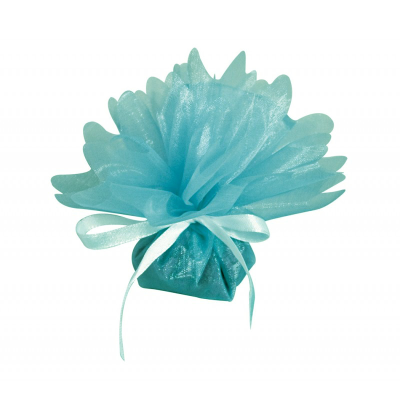 25 tulles cristal turquoises